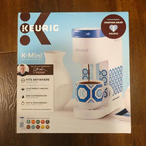 LIMITED EDITION Keurig K-mini K-cup coffee maker